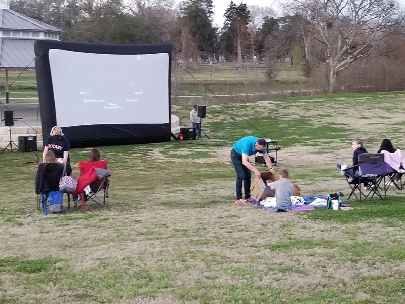 Free movie in the park in histori Richmond